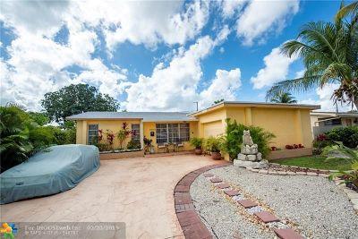 Sunrise FL Single Family Home For Sale: $285,000