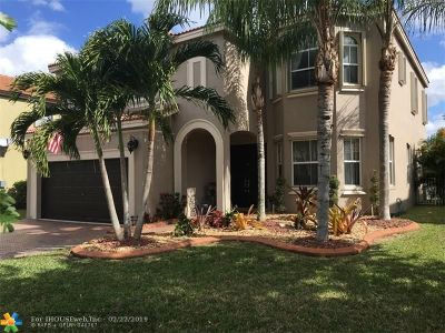 Pembroke Pines Single Family Home For Sale: 973 SW 167th Ave