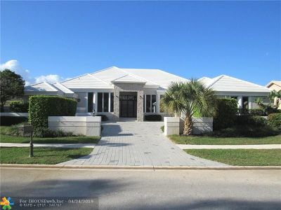 Boca Raton Single Family Home For Sale: 4542 Bocaire Blvd