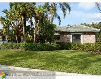 Coral Springs Single Family Home For Sale: 10925 4st St