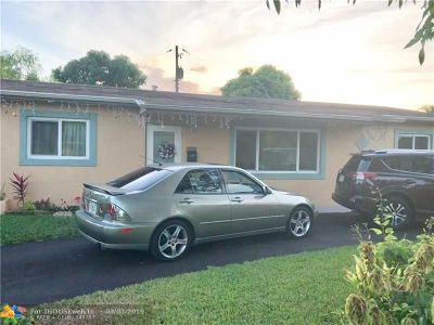 Lauderdale Lakes Single Family Home For Sale: 4400 NW 30th Ct