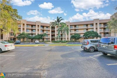 Sunrise FL Condo/Townhouse For Sale: $109,998