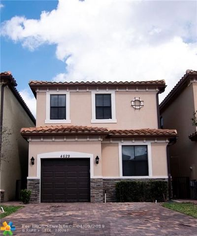 Tamarac Single Family Home For Sale: 4629 NW 59th St