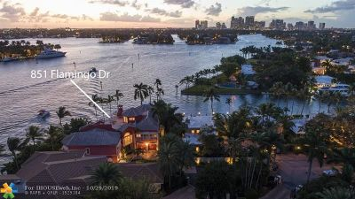 Las Olas Isles Single Family Home For Sale: 851 Flamingo Dr