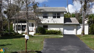 Coral Springs Single Family Home For Sale: 1128 NW 90th Ln