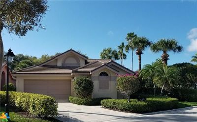 Jupiter Single Family Home For Sale: 16521 Riverwind Dr