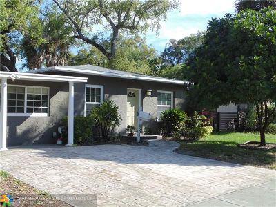 Fort Lauderdale Single Family Home For Sale: 921 SW 20th St