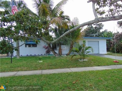 Margate Single Family Home Backup Contract-Call LA: 6018 NW 18th St
