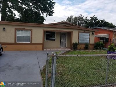Miami Gardens Single Family Home For Sale: 2250 NW 171st Ter