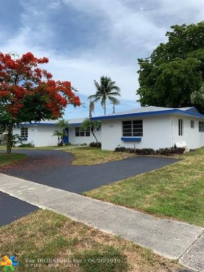 Plantation Single Family Home For Sale: 7220 NW 16th St