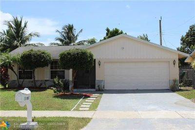 Deerfield Beach Single Family Home Backup Contract-Call LA: 370 SW 35th Ave