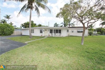 Wilton Manors Single Family Home For Sale: 2706 NE 17th Ter