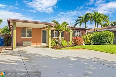 Oakland Park Single Family Home Backup Contract-Call LA: 81 NW 47th St