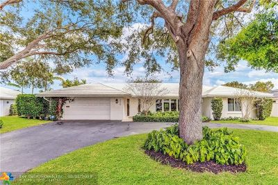 Fort Lauderdale Single Family Home For Sale: 4040 NE 25th Ave
