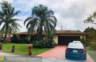 Fort Lauderdale Single Family Home For Sale: 2600 SW 15th Ct