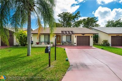Deerfield Beach Single Family Home For Sale: 2112 SW 17th Dr