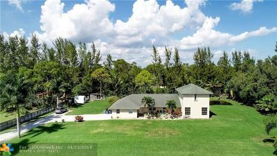 West Palm Beach Single Family Home For Sale: 13333 77th Pl
