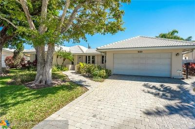 Broward County Single Family Home For Sale: 1920 NE 59th Pl