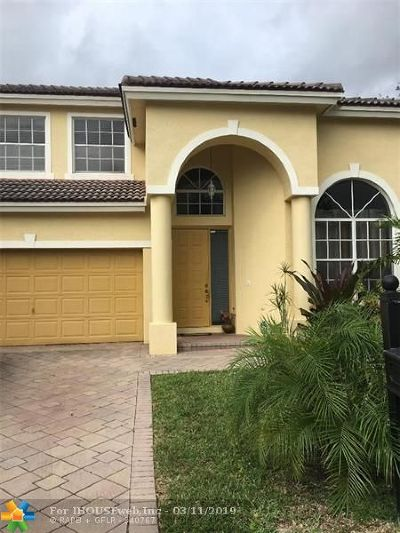 Coral Springs Rental For Rent: 1190 NW 116th Ave