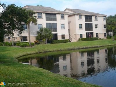 Coconut Creek Condo/Townhouse For Sale: 4151 Coral Tree Cir #355
