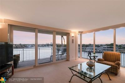 Fort Lauderdale Condo/Townhouse For Sale: 511 Bayshore Dr #511