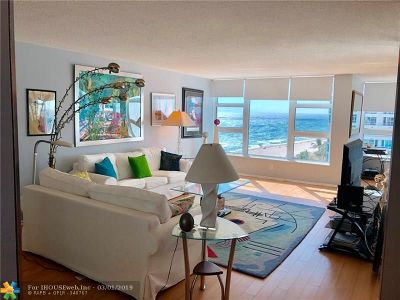 Lauderdale By The Sea Condo/Townhouse For Sale: 1620 S Ocean Blvd #9D