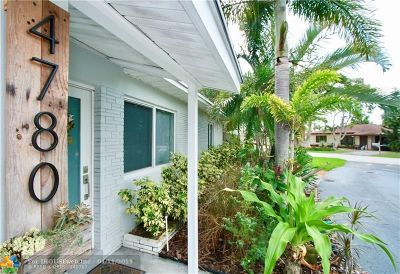 Oakland Park Single Family Home For Sale: 4780 NE 2nd Terrace
