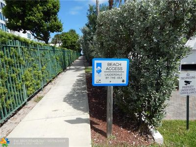Lauderdale By The Sea Condo/Townhouse For Sale: 1541 S Ocean Blvd #416