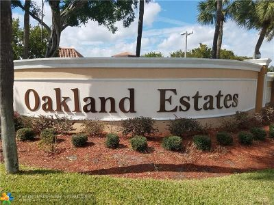 Lauderdale Lakes Condo/Townhouse For Sale: 4140 NW 44th Ave #408