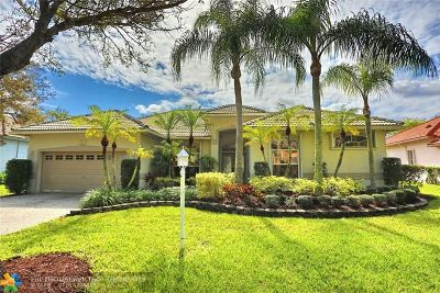 Coral Springs Single Family Home For Sale: 8512 NW 45th St