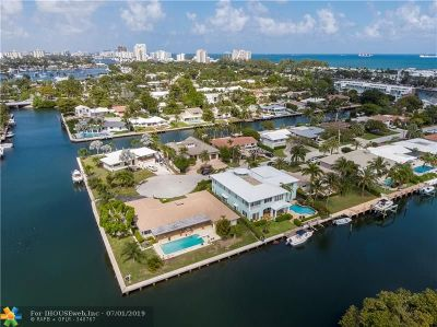 Fort Lauderdale Single Family Home For Sale: 2600 Grace Dr