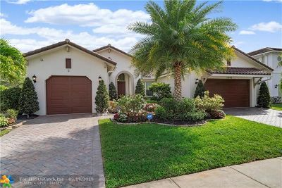 Coral Springs Single Family Home For Sale: 11930 NW 81st Ct