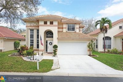 Coral Springs Single Family Home Backup Contract-Call LA: 8359 NW 57th Dr