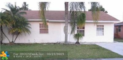 North Lauderdale Single Family Home For Sale: 610 SW 81st Ter
