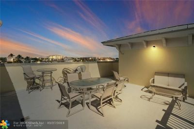 Lauderdale By The Sea Condo/Townhouse For Sale: 4332 Sea Grape Dr #5