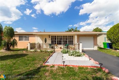 Sunrise Single Family Home For Sale: 6541 NW 21st St