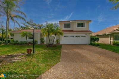 Coral Springs Single Family Home Backup Contract-Call LA: 5010 Perignon Way
