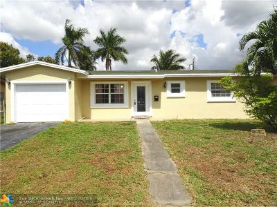 Lauderdale Lakes Single Family Home Backup Contract-Call LA: 3525 NW 23rd Ct