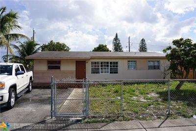 Deerfield Beach Single Family Home For Sale: 871 NE 52nd Ct