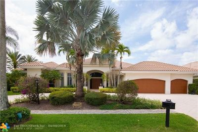Boca Raton Single Family Home For Sale: 17699 Lake Estates Dr