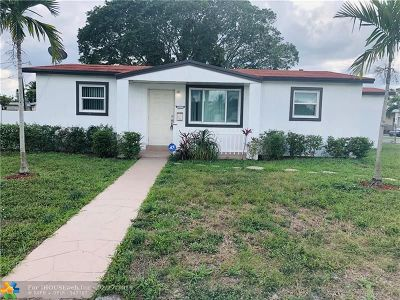 Sunrise Single Family Home For Sale: 2241 NW 61st Ave