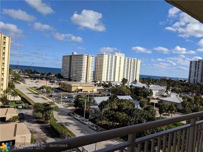 Pompano Beach Condo/Townhouse Backup Contract-Call LA: 299 N Riverside #807