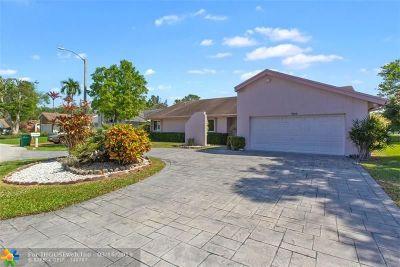 Tamarac Single Family Home Backup Contract-Call LA: 7844 Nutmeg Ct