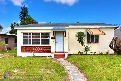 Fort Lauderdale Single Family Home For Sale: 1214 NW 1st Ave
