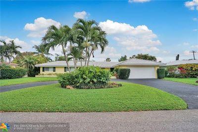 Fort Lauderdale Single Family Home For Sale: 2632 NE 35th St