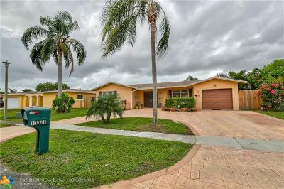 Pembroke Pines Single Family Home Backup Contract-Call LA: 10421 NW 17th Pl