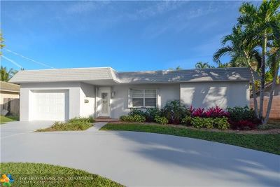 Wilton Manors Single Family Home For Sale: 2024 NE 22nd St