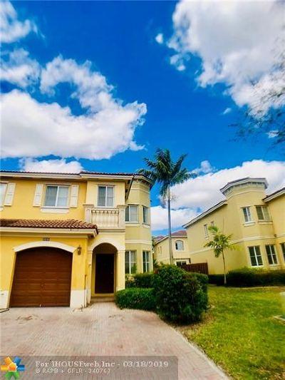 Miramar Condo/Townhouse For Sale: 9049 SW 19th St #9049
