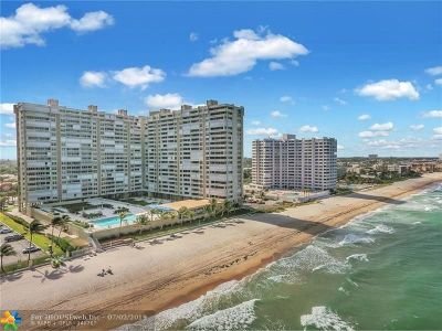 Fort Lauderdale Condo/Townhouse For Sale: 4300 N Ocean Blvd #2M