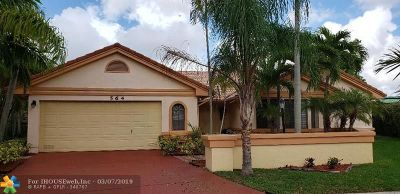 Deerfield Beach Single Family Home For Sale: 564 NW 39th Ter